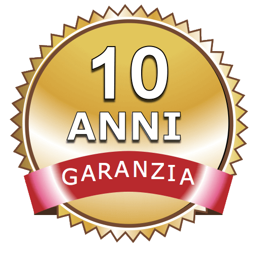 10 anni garanzia POSEIDON